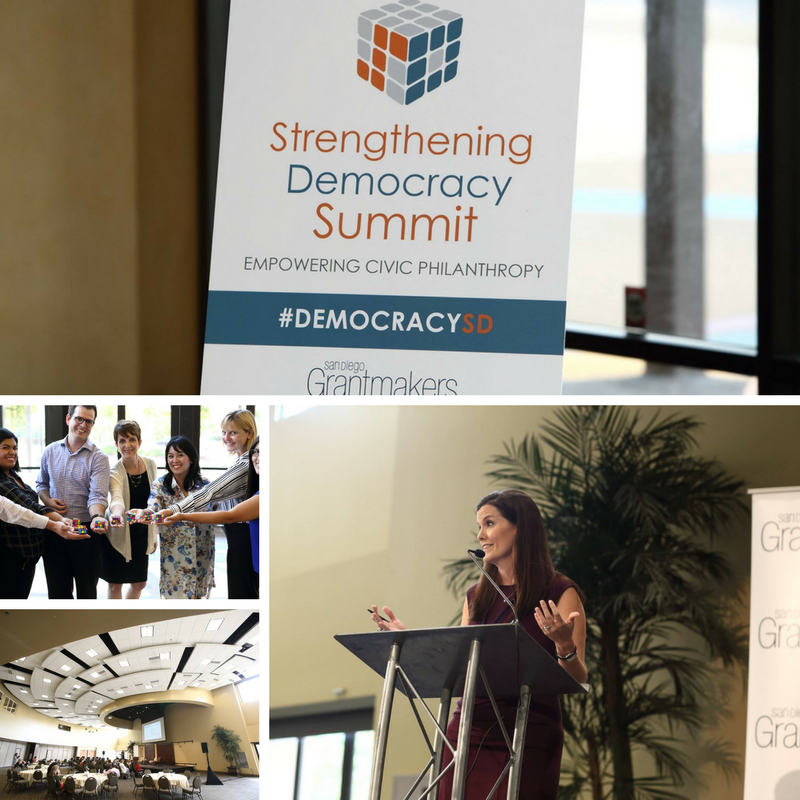 San Diego Grantmakers Strengthening Democracy Summit