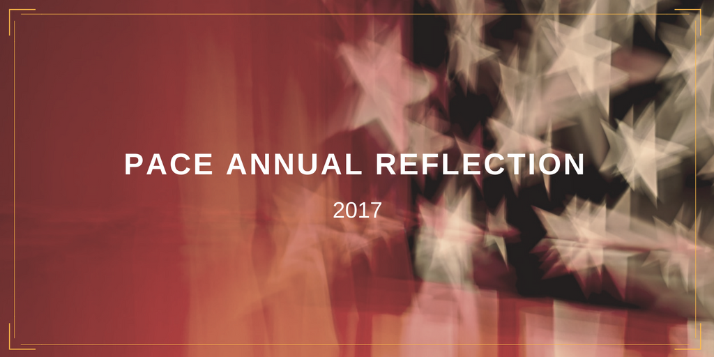 2017 PACE Annual Reflection